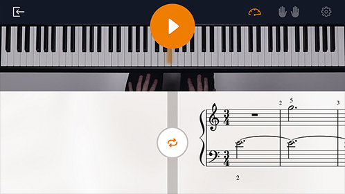 flowkey-プロの演奏1