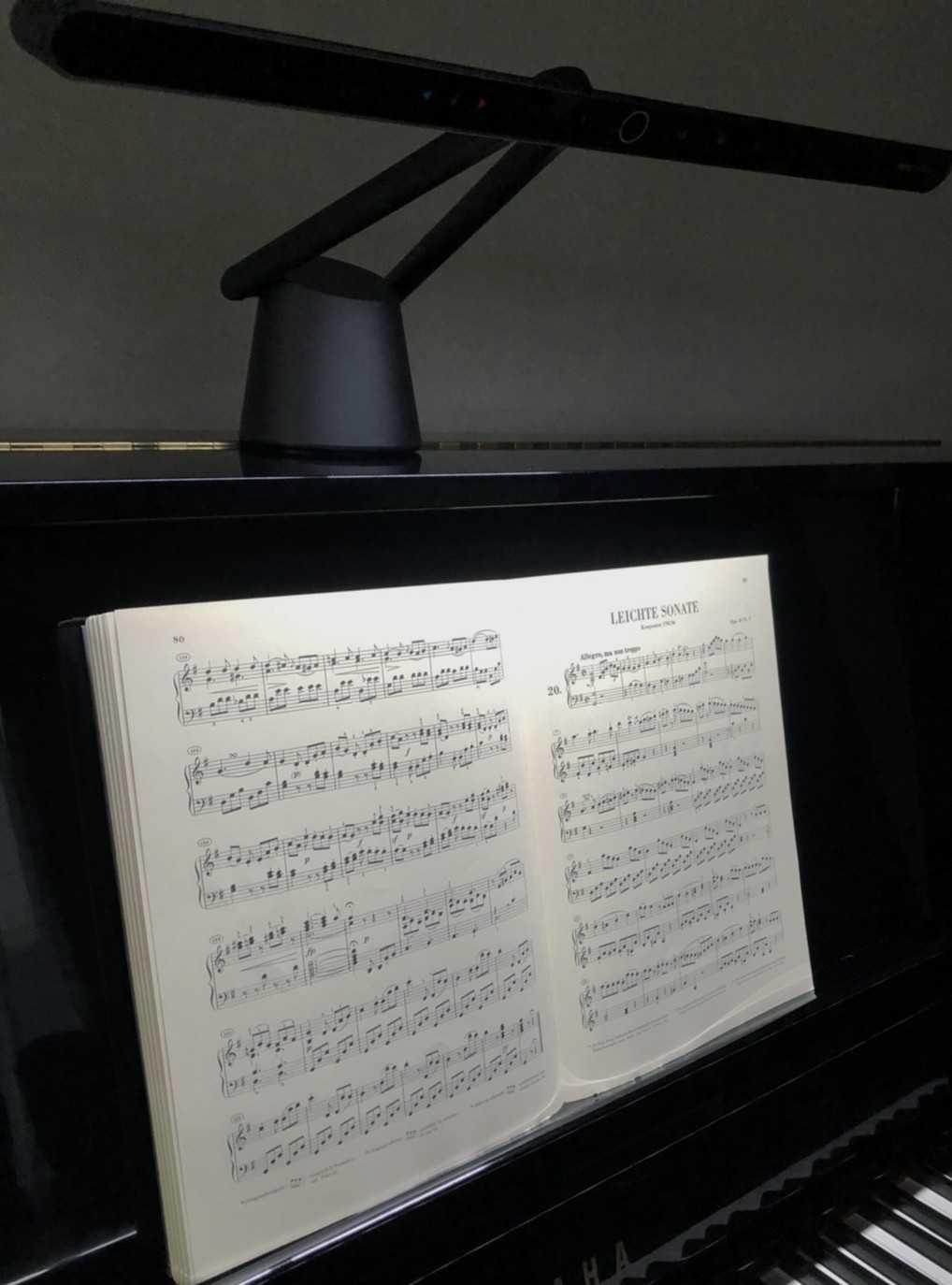 PianoLightの寒色の光